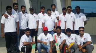 Our cricket team TITANS..